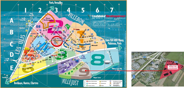 plan ZAC Courtaboeuf 9