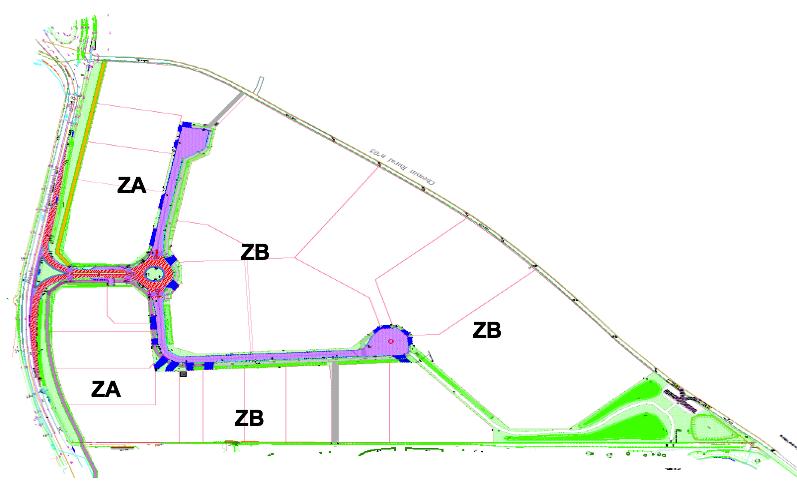 plan ZAC Courtaboeuf 9 par zone